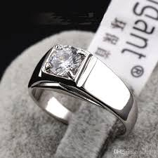 swarovski rings black images Online cheap men 39 s hearts and arrows finger ring swarovski crystal jpg