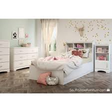 kids bed headboard south shore callesto pure white twin kids headboard 9018098 the