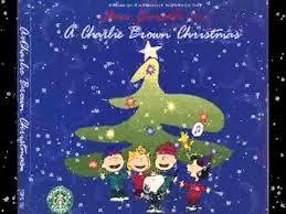 peanuts christmas soundtrack a brown christmas christmas is coming