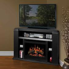 electric fireplace corner tv stand entertainment center with u
