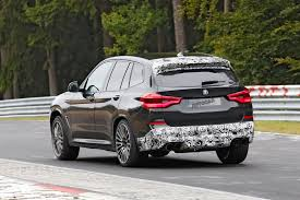 Porsche Macan X3 - 425bhp bmw x3 m upcoming macan turbo rival due this year road