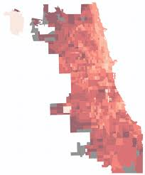 Chicago Demographics Map by Chicago Commute Map Updated With 2013 Census Data Transitized