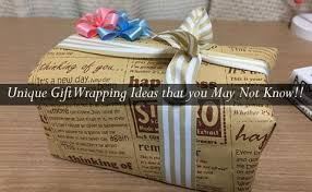 unique gift wrap unique gift wrapping ideas that you may not pico bags