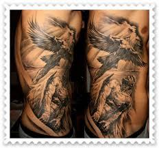 tatuajes de ángeles ideas de diseños salón de tatuajes
