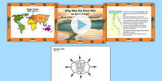 ancient egypt why was the river nile so important powerpoint