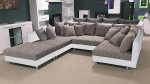 couch mit hocker 100 hocker couch bigsofa miami mit einer edlen led