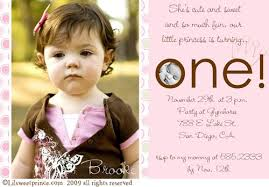 beautiful baby first birthday invitation card 51 for your sri
