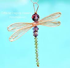 unique dragonfly gifts swarovski dragonfly suncatcher inspirational dragonfly