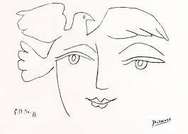 the fearless one line picasso drawings elumina