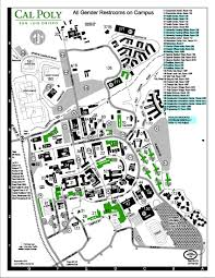 Lsu Campus Map Single Occupancy Restrooms On Campus Dean Of Students Cal Poly
