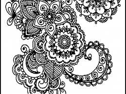 fancy design ideas color pages for adults to print fall coloring