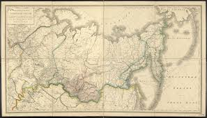 Map Of Alaska And Russia by General Map Of Asiatic Russia Showing An Up To Date Division Into