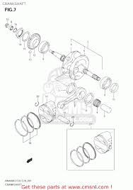 suzuki an400 burgman 2004 k4 usa e03 crankshaft schematic