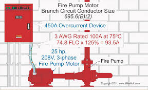 nec rules for fire pumps electrical construction u0026 maintenance