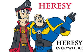 Everywhere Meme - heresy heresy everywhere memes