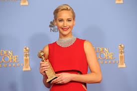 golden globes jennifer lawrence wins actress in a musical or
