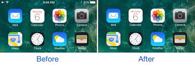 Iphone 5 Top Bar Icons Taptap Statusbar Lets You Hide And Show Your Status Bar With A Tap