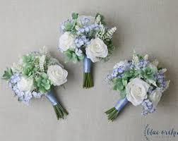 Bridesmaid Bouquets Bridesmaid Bouquet Silk Flowers Silk Wedding Bouquet Pink