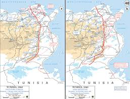 Map Of World War 1 by Map Of Wwii Tunisia 1942 43