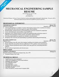 Sample Resume Design by Click Here To Download This Mechanical Engineer Resume Template