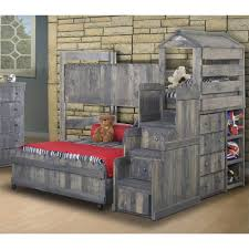 Fort Bunk Bed Chelsea Home Loft Bed W Stairway Chest