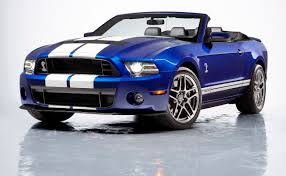 convertible mustang deep impact blue 2013 ford mustang shelby gt 500 convertible