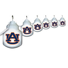Awning Globe Lights For Camper by Collegiate Patio Globe Lights 6 Light Sets Auburn Polymer Ncaa