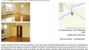 this is saddest apartment ad on craigslist right now curbed