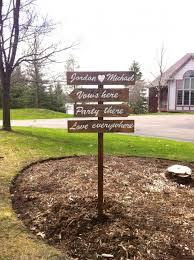 personalized wooden wedding signs wedding signs directional signs wood wedding signs personalized