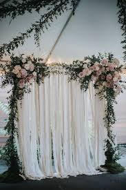 wedding backdrop altar best 25 wedding ceremony arch ideas on wedding altars