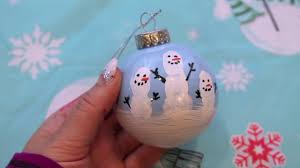 the snowman bauble