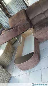 canap brun canap d angle compact fabulous canape dangle convertible habitat d