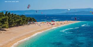 Blue Flag Beach Croatian Beaches And Blue Flags Croatian Camping Union