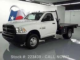 dodge ram 3500 flatbed dodge ram 3500 reg cab diesel dually flat bed 2014 commercial