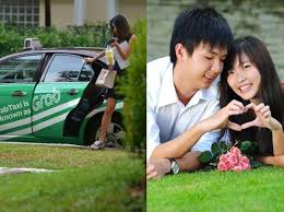 cinta tak terduga bertemu kekasih saat pertama kali pesan taksi online