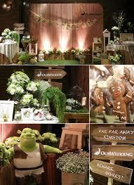 shrek themed wedding decor praise wedding community