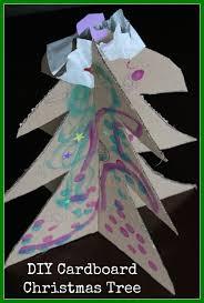 the activity mom cardboard christmas tree