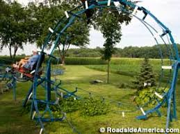 roller coaster for backyard backyard roller coasters of john ivers bruceville indiana