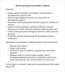sample market analysis template 10 free documents in pdf excel