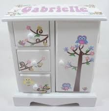 personalized girl jewelry box childrens musical jewelry box foter