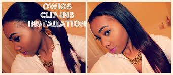 owigs clip ins installation owigs clip ins win free hair