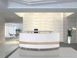 Funky Reception Desks Front Reception Desk Designs Unique Wooden Receptionist Table In