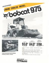 throwback thursday development of the bobcat m970
