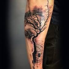 brown tree forearm forearm tree designs