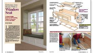 Built In Window Bench Seat Enhance A Room With A Window Seat Fine Homebuilding