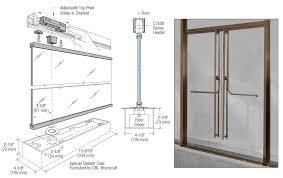 Shower Door Closer by 13fp340rb Crl Blumcraft Oil Rubbed Bronze 1301 Entry Door 3 4