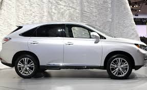 gray lexus rx 350 2010 lexus rx350 rx450h hybrid video news car and driver
