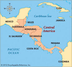 south america map belize central america britannica homework help