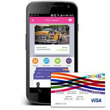 card pockets get free icici credit card using pockets app