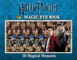 harry potter magic eye book 3d magical moments magic eye books